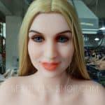 wm 163cm H cup pink skin light brown nipples head 195