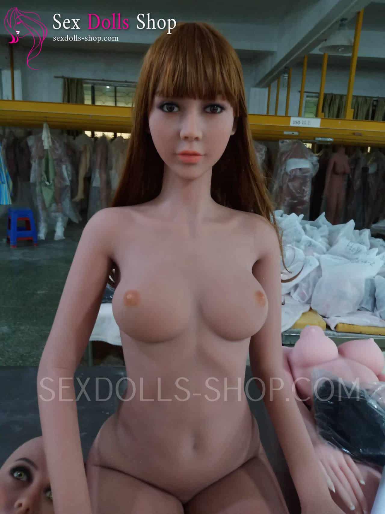 wm 172cm B cup tan skin color light brown nipples head 56