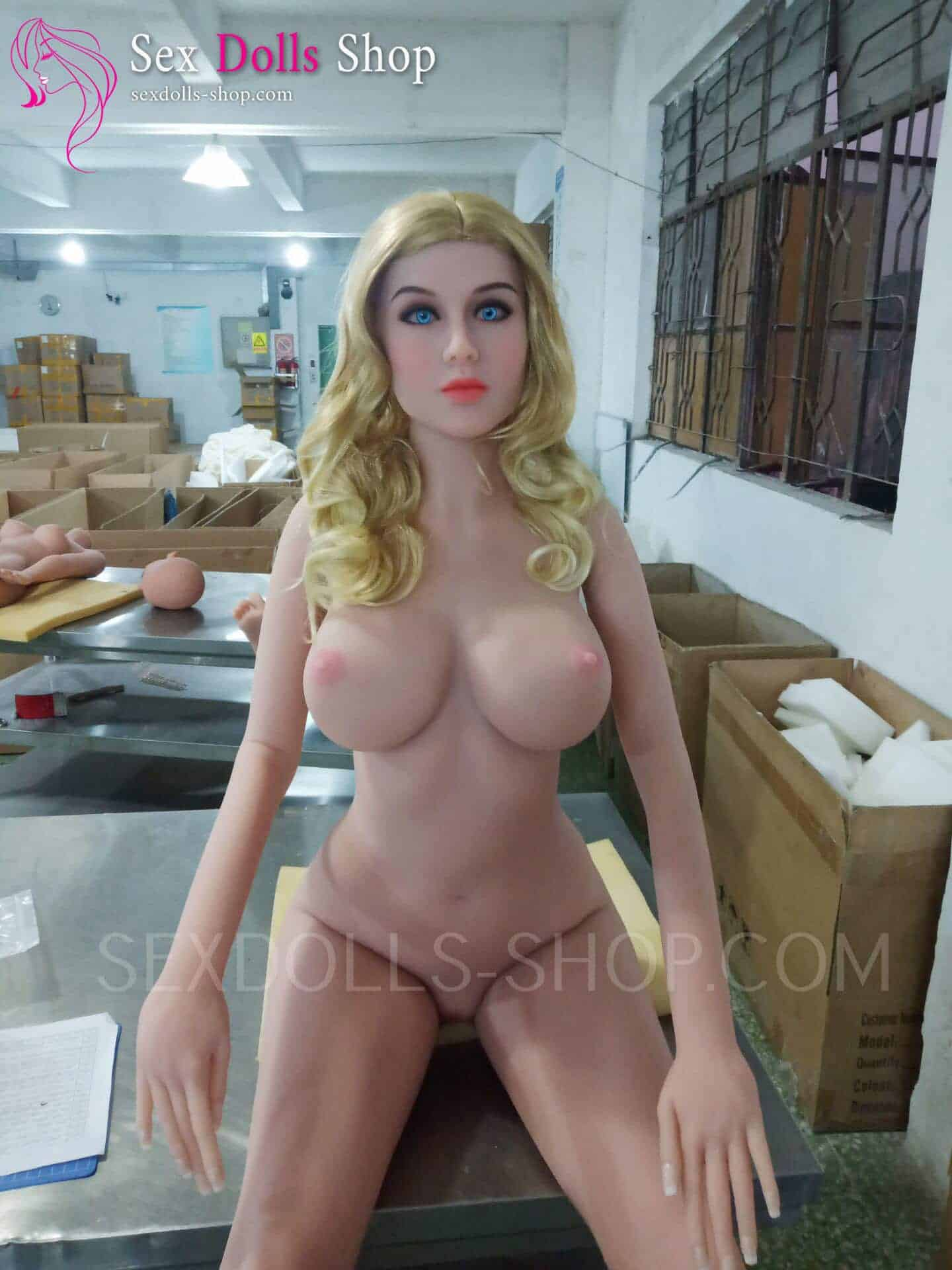 wm 162cm E cup skin medium nipples pink head 15
