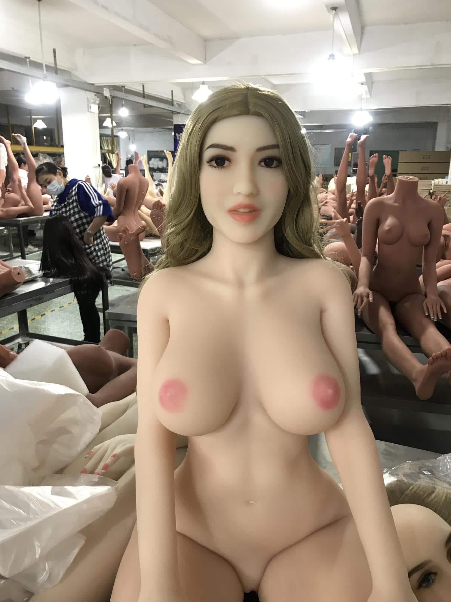 wm 170cm D cup white skin pink nipples head 265