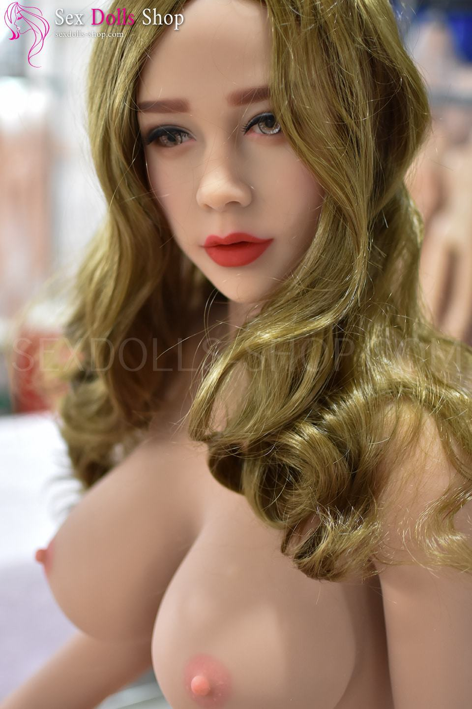 6ye 165cm DD cup tan skin pink nipples head 7