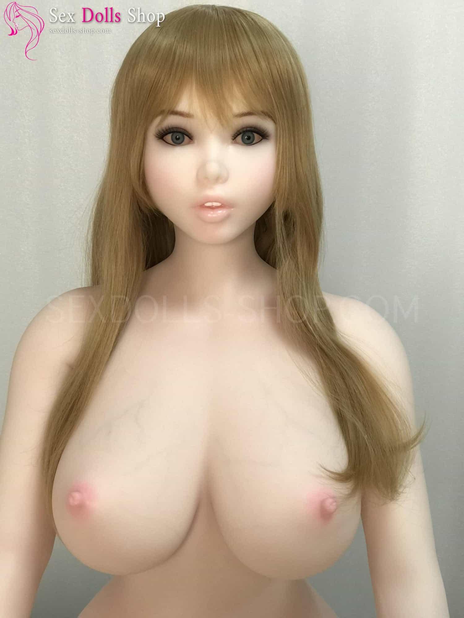 piperdoll 150cm J cup white skin pink nipples
