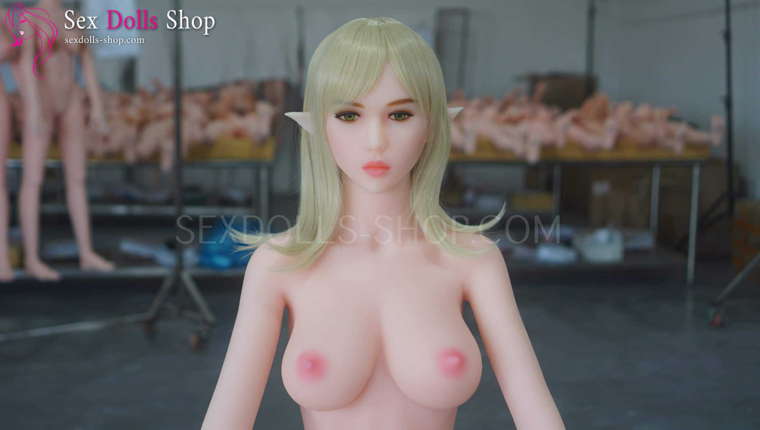 doll4ever Dora 155cm D cup pink white skin pink nipples